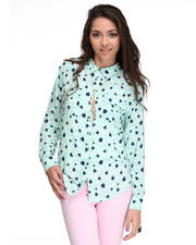 Tops - Candy Heart Utility Shirt