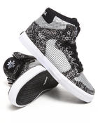 Supra - Vaider Snake Print Canvas Sneakers (Kids)