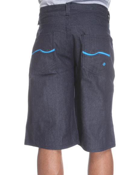 Enyce Men Blue New Tradition Denim Short