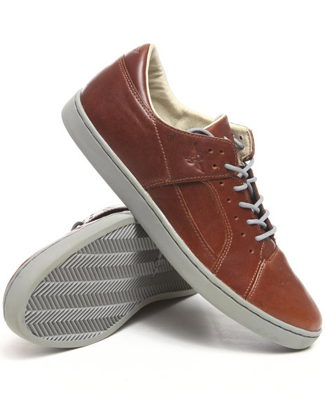 Creative Recreation Men Brown Tucco Biscotti Leather Sneaker