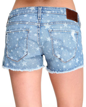 Big Star - Remy Low Rise Star Print Cut Off Short