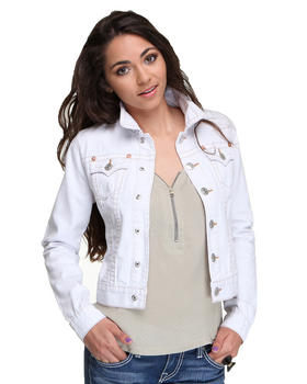 True Religion - Emily Contrast Stitch Jacket