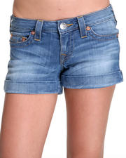 True Religion - Allie High Thigh Cuffed Short