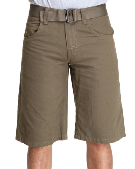 Enyce Men Green Whisky Short
