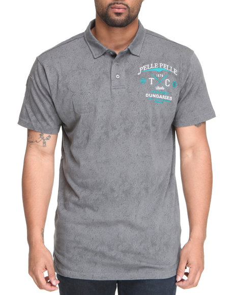 Pelle Pelle Men S/S Pelle Tailored Polo Shirt