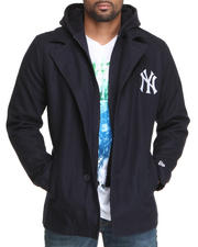 Heavy Coats - NEW YORK YANKEES NEW ERA PEACOAT JACKET (DRJAYS.COM EXCLUSIVE)