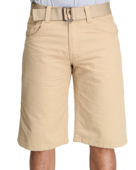 Enyce Men Khaki Whisky Short