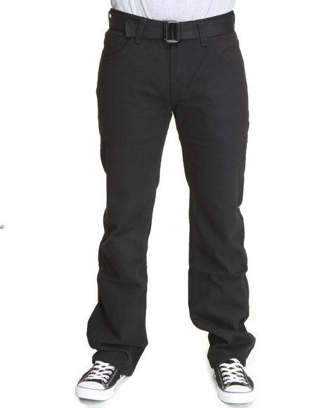 Enyce Men Black Enyce Core Belted Jean