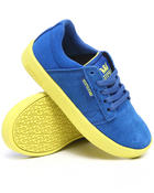 Supra - Westwood Royal Blue Suede/Canvas Sneakers (Youth)