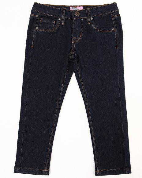 La Galleria Girls Basic 5 Pkt Skinny Jeans 46X Dark Wash 6