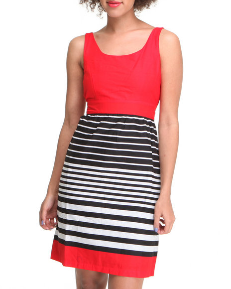 Fashion Lab Women Red Weekend Day Dress