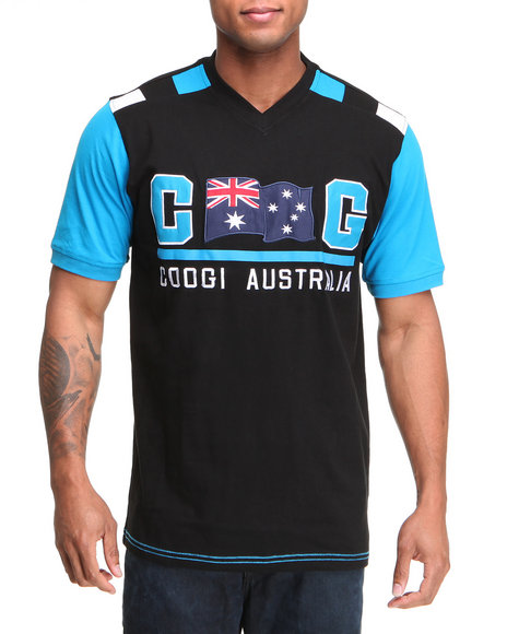 COOGI Men Black Thrones Australia Tee