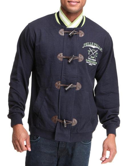 Pelle Pelle Men Navy Pelle Tailored Track Jacket