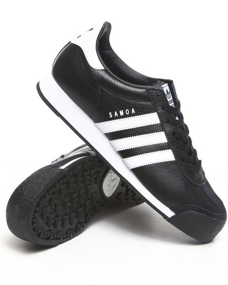 Adidas - Men Black Samoa Sneakers
