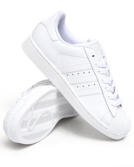 Adidas Men White Superstar White On White