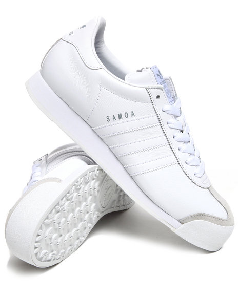 Adidas - Men White Samoa Sneakers