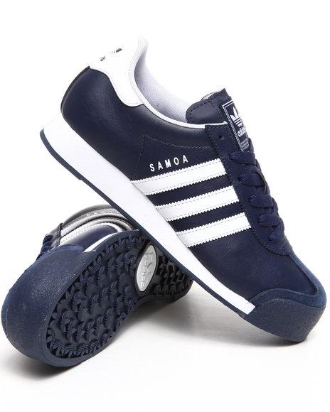 Adidas Men Navy Samoa Sneakers