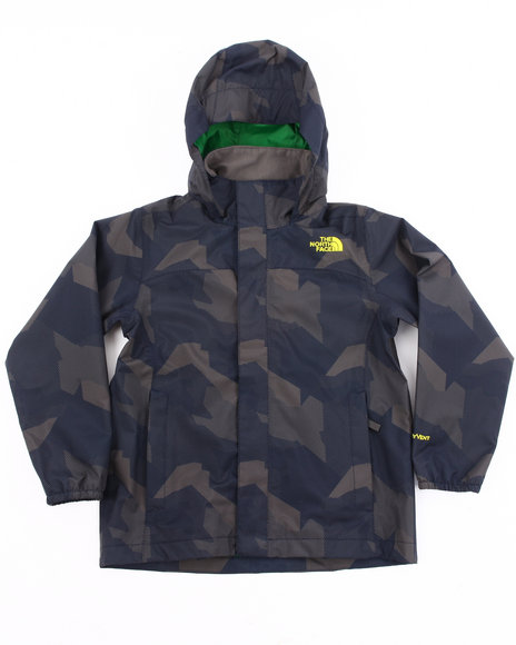 The North Face Boys Navy Printed Resolve Jacket (4-20)