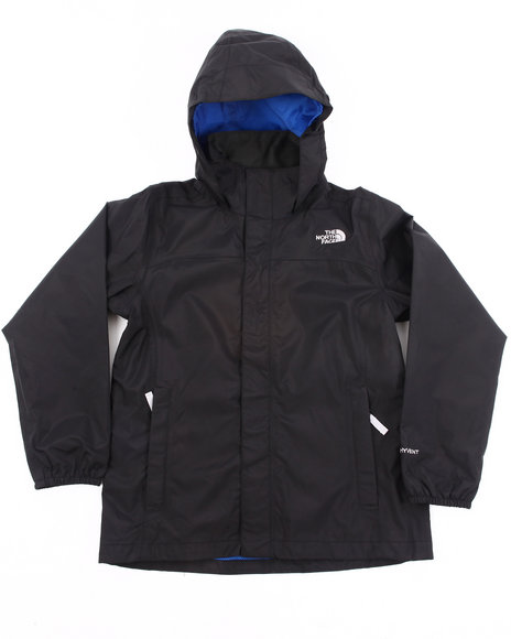 The North Face Boys Black Resolve Jacket (4-20)
