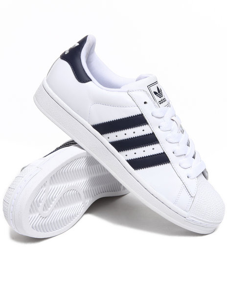 Adidas - Men Navy,White Superstar