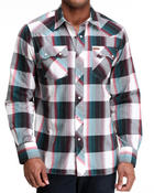 Rocawear - Outlaw Plaid L/S Button-down
