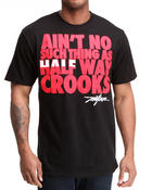 Men - Half Way Crooks Tee