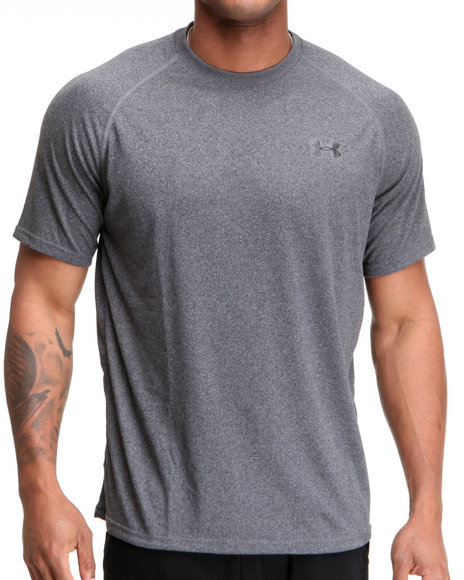 Under Armour - Men Grey Training Tee (Superior Moisture Transport)