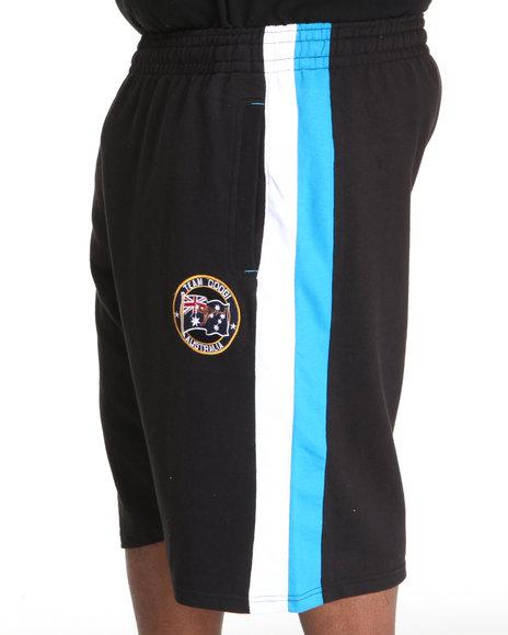 COOGI Men Black Thrones Fleece Shorts (B&T)