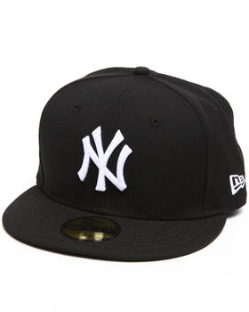 New Era - NEW YORK YANKEES WHITE  EMB 5950 FITTED CAP
