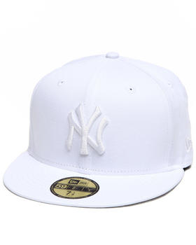 New Era - NEW YORK YANKEES ALL WHITE EVERYTHING 5950 FITTED CAP