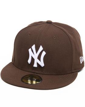 New Era - New York Yankees Walnut/White 5950 fitted hat