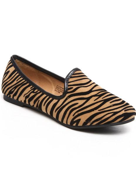 Kensie Girl Girls Animal Print Animal Smoking Loafer (11-4)