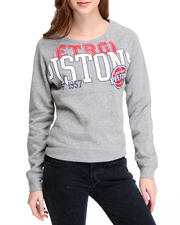 Sweatshirts - Detroit Pistons Pullover