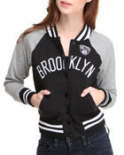 Women - Brooklyn Nets Light Weight Track Jacket