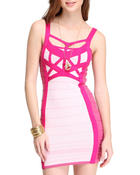 Women - Mini Bandage Bodycon Dress