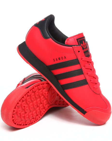 Adidas Boys Red Samoa Sneakers