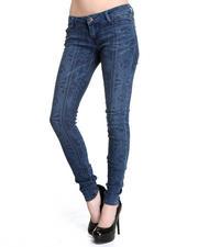 Skinny - Geo Printed Skinny Jean Pant