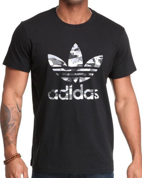 Adidas Men Black Camo Tee