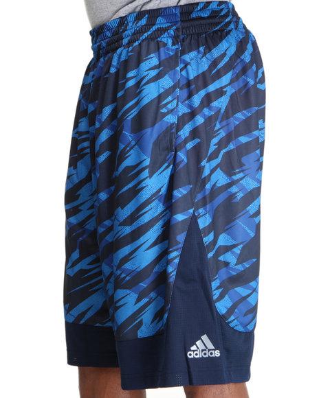 Adidas Men Blue Prime Impact Camo All Star Shorts