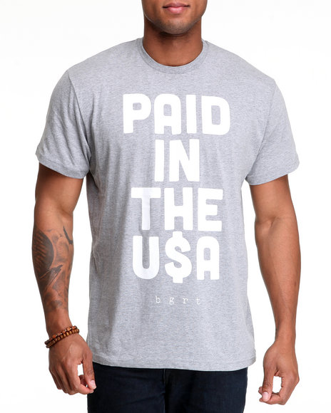 BGRT Grey Paid In... T-Shirt