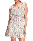 Women - Rose Floral Dress