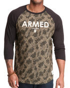 Crooks & Castles - Armed Knit Raglan Baseball Shirt