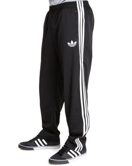 Adidas Black Adi Firebird Track Pants