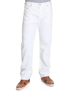 Levi's - 501 Straight Fit Optic White Jeans