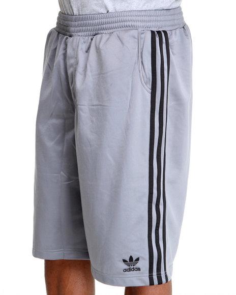 Adidas Men Grey Adi Tricot Shorts