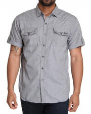 MO7 - Garment washed S/S button down