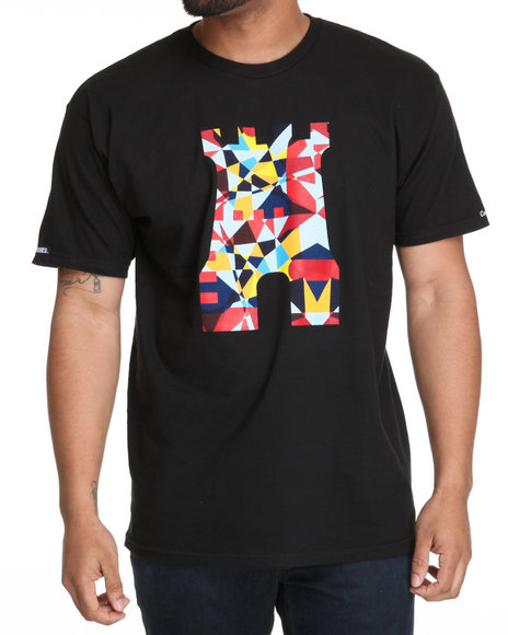 Crooks & Castles Black T-Shirts