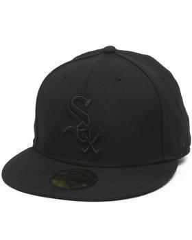 New Era - Chicago White Sox MLB Black On Black 5950 fitted hat