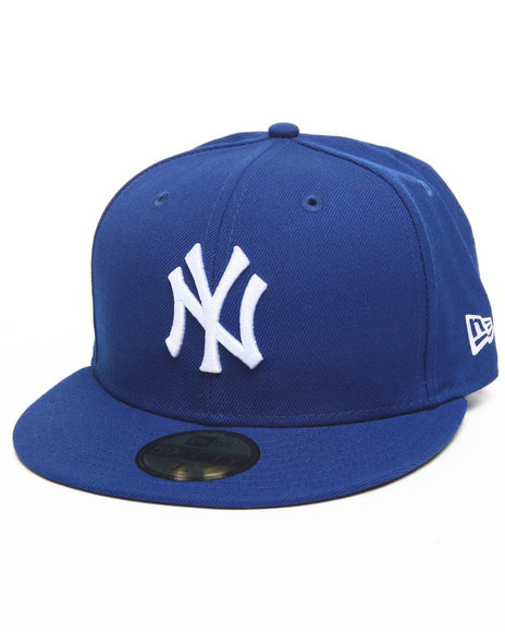 New Era Blue New York Yankees Royal/White 5950 Fitted Hat