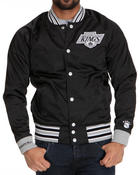 Men - Los Angeles Kings NHL Injury Report Satin Jacket